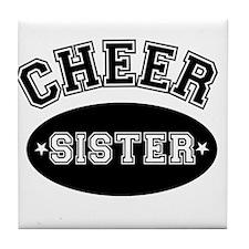 Cheer Sister Tile Coaster