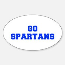 Spartans-Fre blue Decal