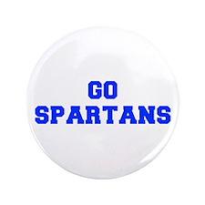 """Spartans-Fre blue 3.5"""" Button (100 pack)"""