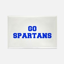 Spartans-Fre blue Magnets
