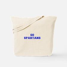Spartans-Fre blue Tote Bag