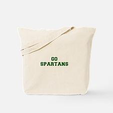 Spartans-Fre dgreen Tote Bag