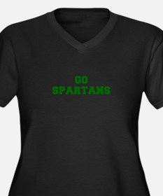 Spartans-Fre dgreen Plus Size T-Shirt