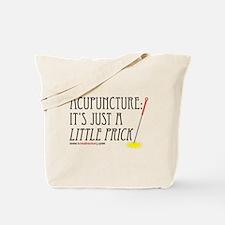 Acupuncture: Little Prick Canvas Tote