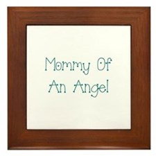 Mommy of an Angel Framed Tile