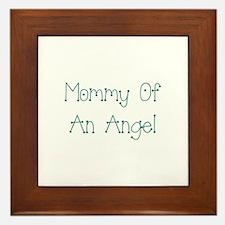 Mommy of an Angel Framed Tile
