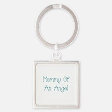 Mommy of an Angel Square Keychain