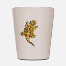 Horned Toad Shot Glass