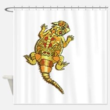 Horned Toad Shower Curtain