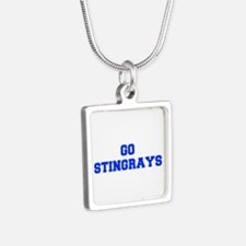 stingrays-Fre blue Necklaces