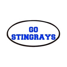 stingrays-Fre blue Patch
