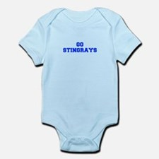 stingrays-Fre blue Body Suit