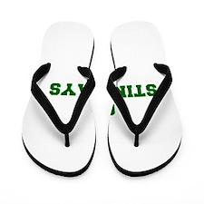 stingrays-Fre dgreen Flip Flops