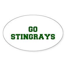 stingrays-Fre dgreen Decal