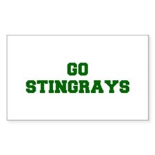 stingrays-Fre dgreen Decal