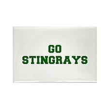 stingrays-Fre dgreen Magnets