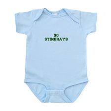 stingrays-Fre dgreen Body Suit