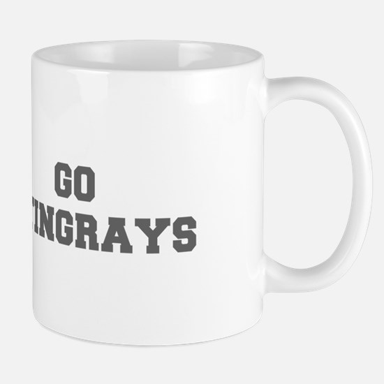 STINGRAYS-Fre gray Mugs