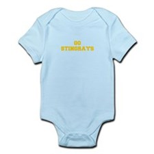 stingrays-Fre yellow gold Body Suit