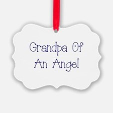 Grandpa of an Angel Ornament