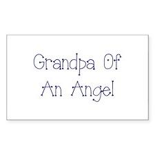 Grandpa of an Angel Decal