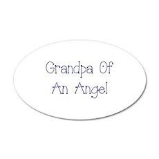 Grandpa of an Angel Wall Decal