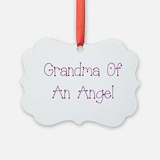 Grandma of an Angel Ornament