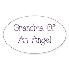 Grandma of an Angel Decal