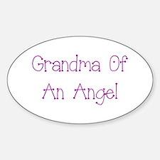 Grandma of an Angel Decal