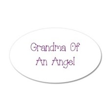 Grandma of an Angel Wall Decal