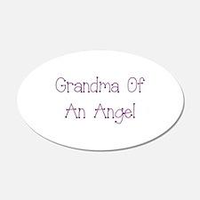 Grandma of an Angel Wall Decal