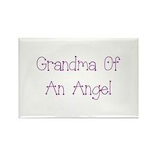 Grandma of an Angel Rectangle Magnet