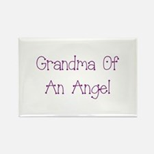 Grandma of an Angel Rectangle Magnet