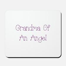 Grandma of an Angel Mousepad