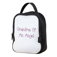 Grandma of an Angel Neoprene Lunch Bag