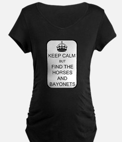 Keep Calm Maternity T-Shirt