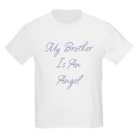 My Brother is an Angel Kids Light T-Shirt