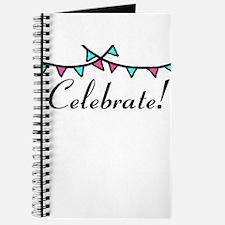 Pink Teal Celebrate Journal
