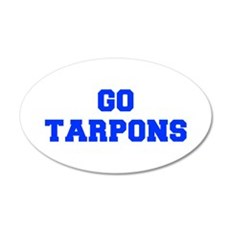 Tarpons-Fre blue Wall Decal