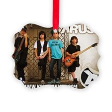 KRUSH Collector Card Ornament