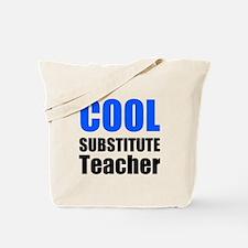 Cool Substitute Teacher Tote Bag