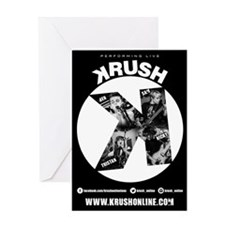 KRUSH FLYER Greeting Cards