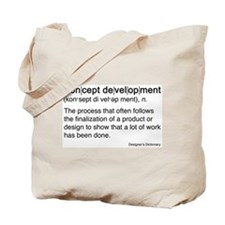 Concept Development Tote Bag
