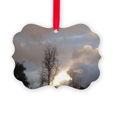 Cloudy Skies Ornament