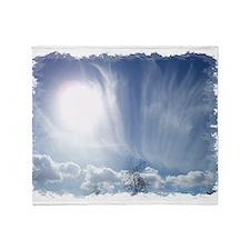 Heavenly Clouds Throw Blanket