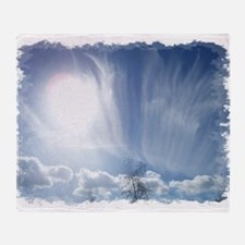 Heavenly Clouds Throw Blanket