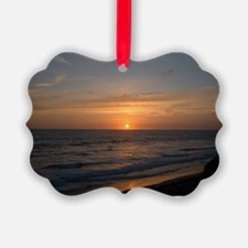 Ocean Sunset Ornament