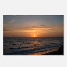 Ocean Sunset Postcards (Package of 8)