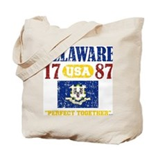 """DELAWARE / USA 1787 STATEHOOD """"PERFECT TO Tote Bag"""