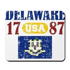 "DELAWARE / USA 1787 STATEHOOD ""PERFECT T Mousepad"